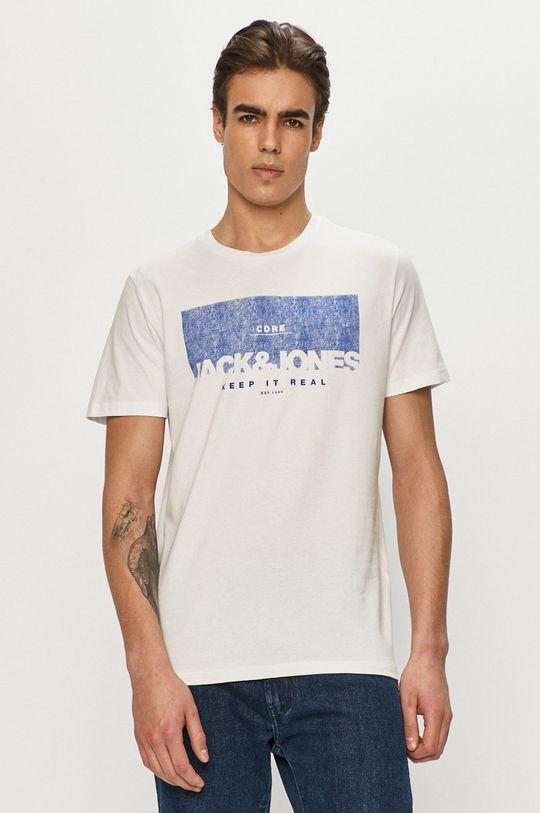biały Jack & Jones - T-shirt Męski