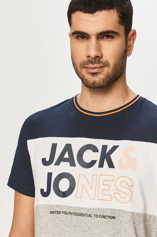 tmavomodrá Jack & Jones - Tričko Pánsky
