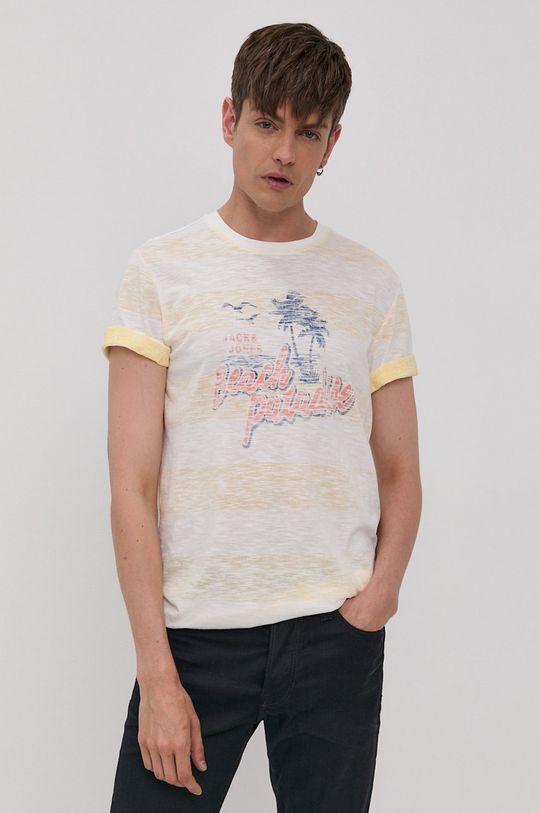 žlutá Jack & Jones - Tričko Pánský
