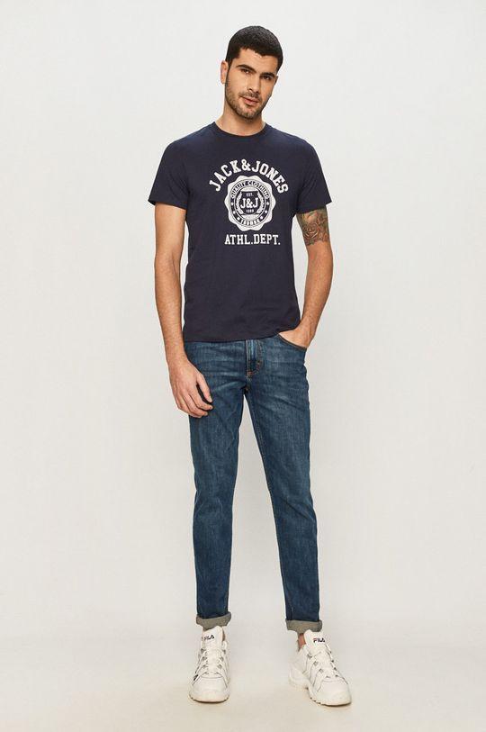 Jack & Jones - T-shirt granatowy