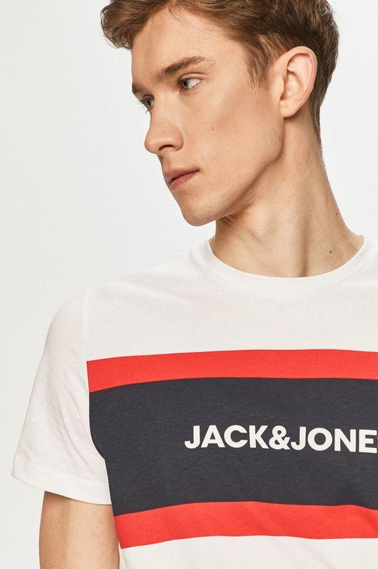 biela Jack & Jones - Tričko Pánsky