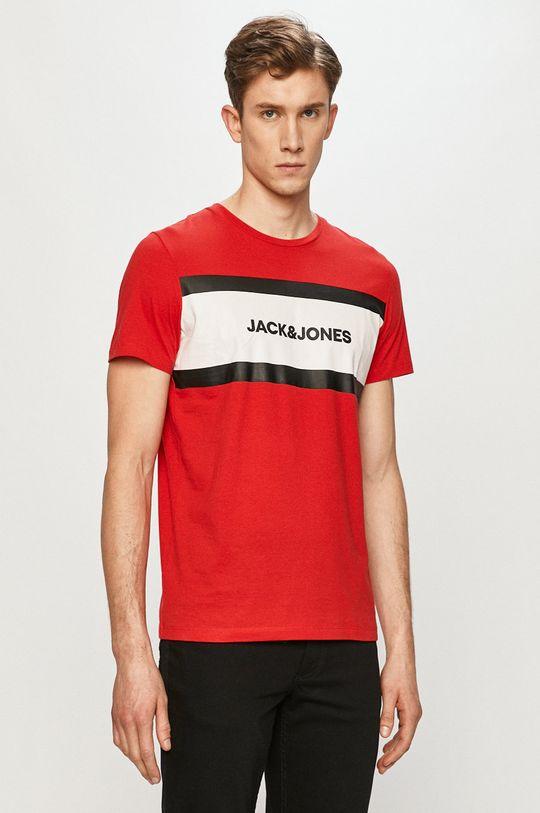 červená Jack & Jones - Tričko Pánsky