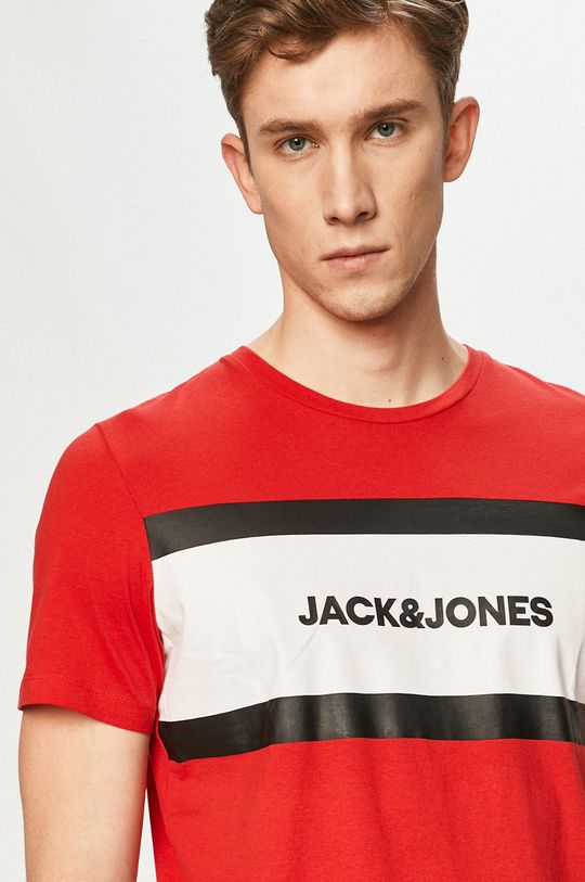 červená Jack & Jones - Tričko