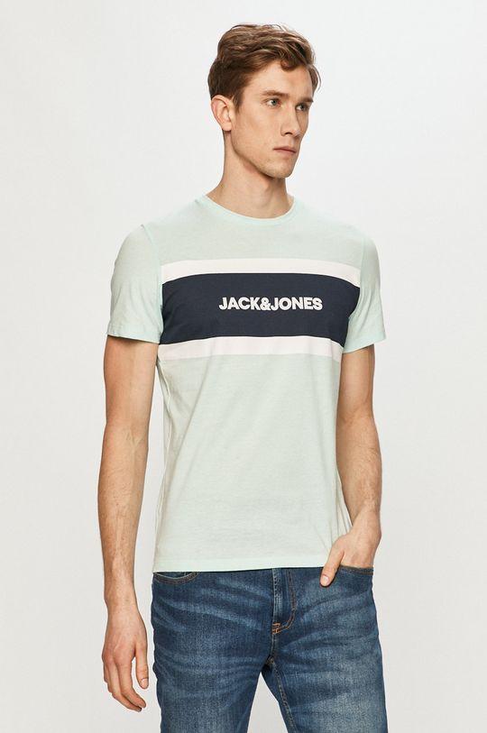 svetlá tyrkysová Jack & Jones - Tričko Pánsky