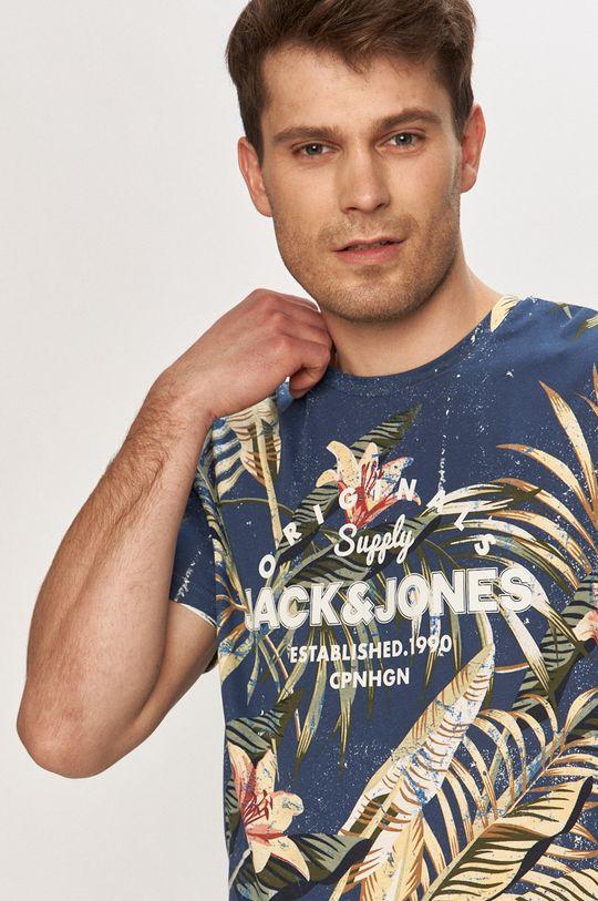 námořnická modř Jack & Jones - Tričko
