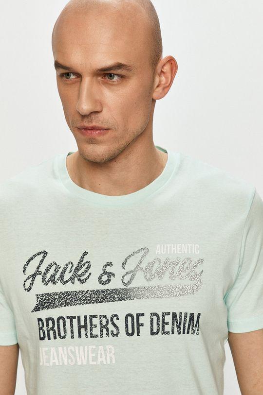 svetlá tyrkysová Jack & Jones - Tričko