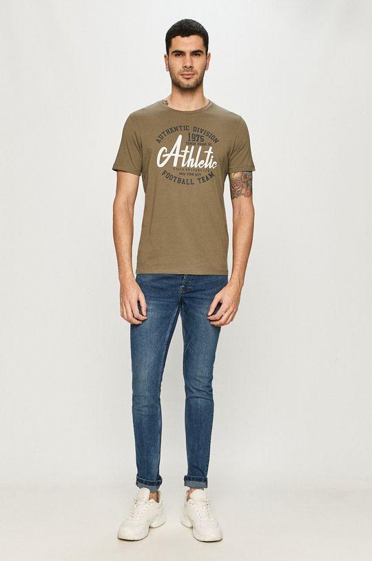 Produkt by Jack & Jones - T-shirt oliwkowy