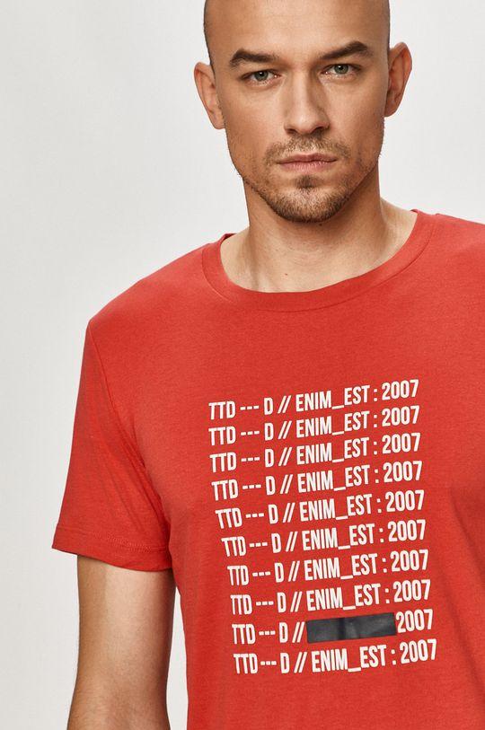 červená Tom Tailor - Tričko Pánský