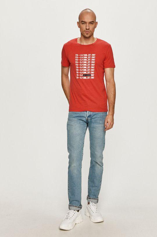 Tom Tailor - Tričko červená