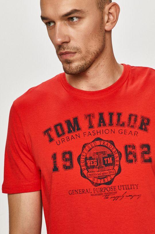 rosu Tom Tailor - Tricou