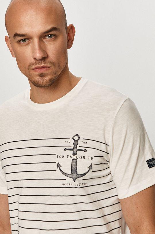 biela Tom Tailor - Tričko