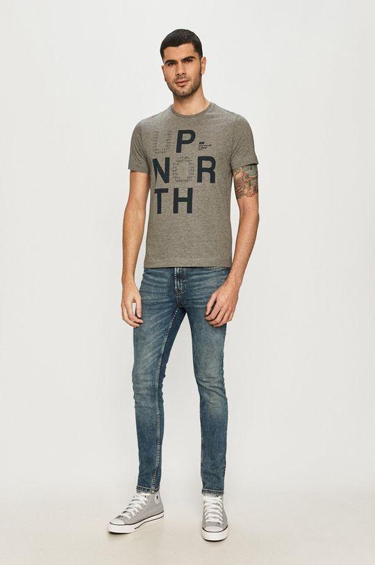 s. Oliver - T-shirt jasny szary