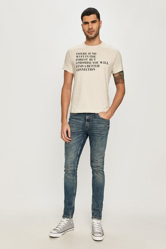 s. Oliver - T-shirt jasny niebieski