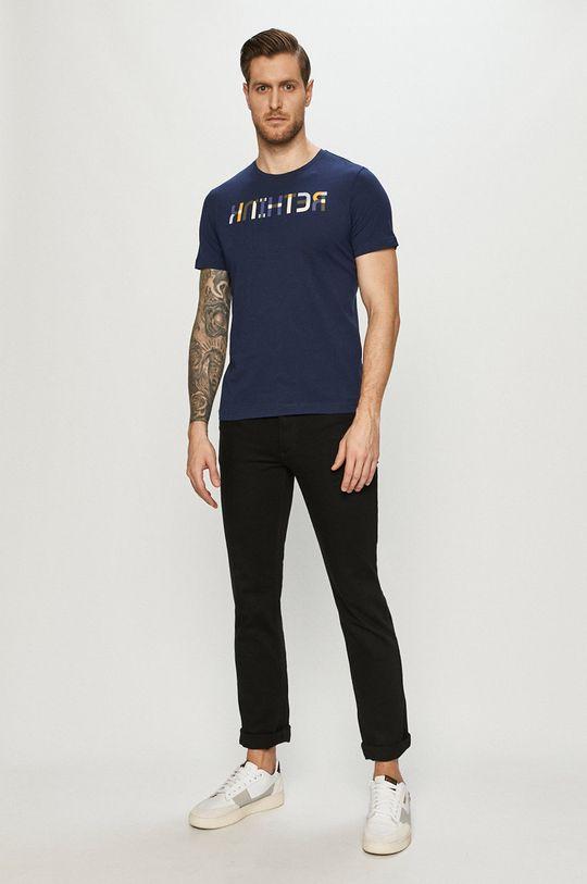 s. Oliver - T-shirt granatowy