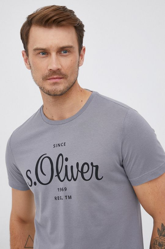 szary s. Oliver - T-shirt