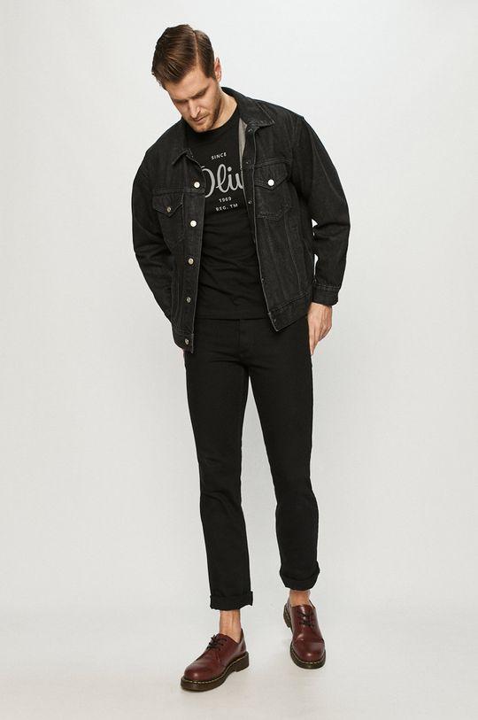 s. Oliver - Tricou negru