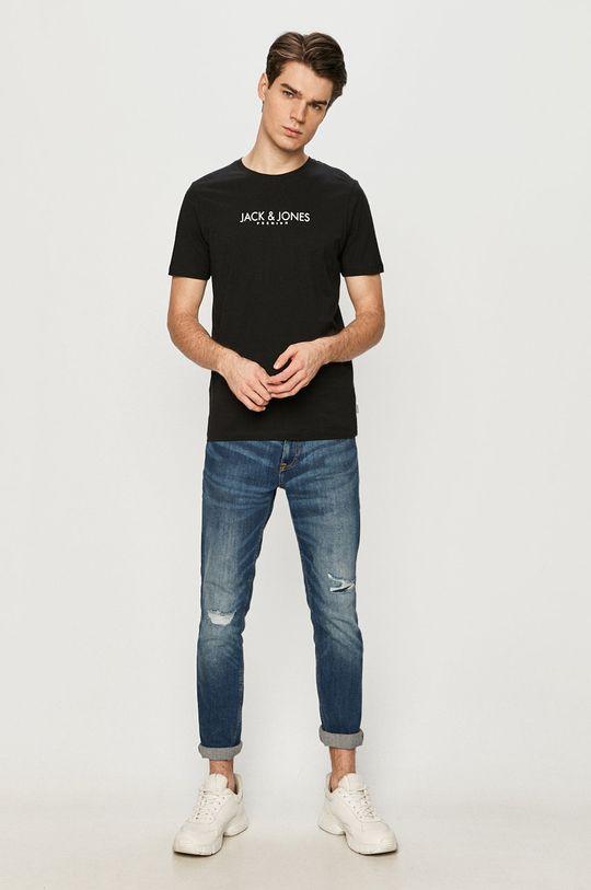 Premium by Jack&Jones - Tričko čierna
