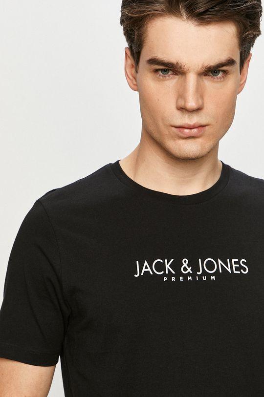 čierna Premium by Jack&Jones - Tričko