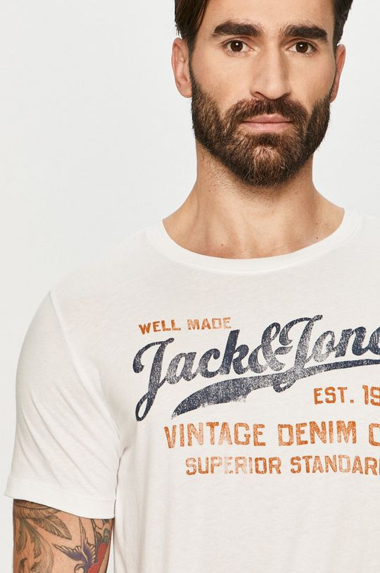 biela Premium by Jack&Jones - Tričko