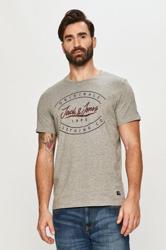 gri deschis Jack & Jones - Tricou De bărbați
