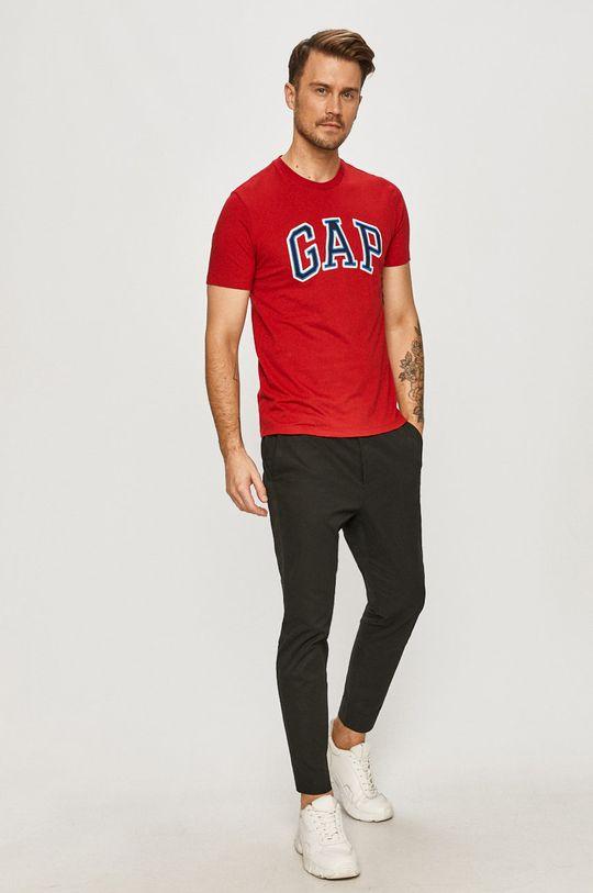 GAP - T-shirt czerwony