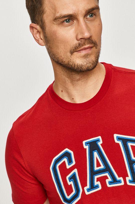 czerwony GAP - T-shirt