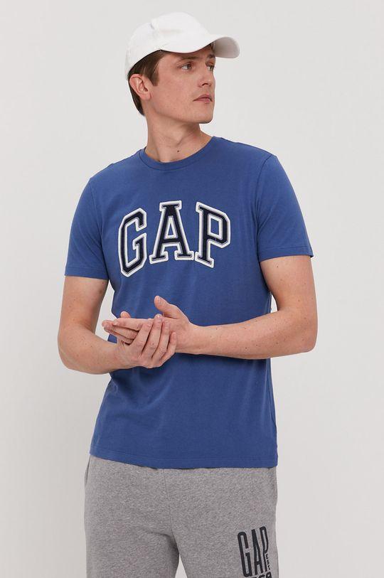 niebieski GAP - T-shirt Męski