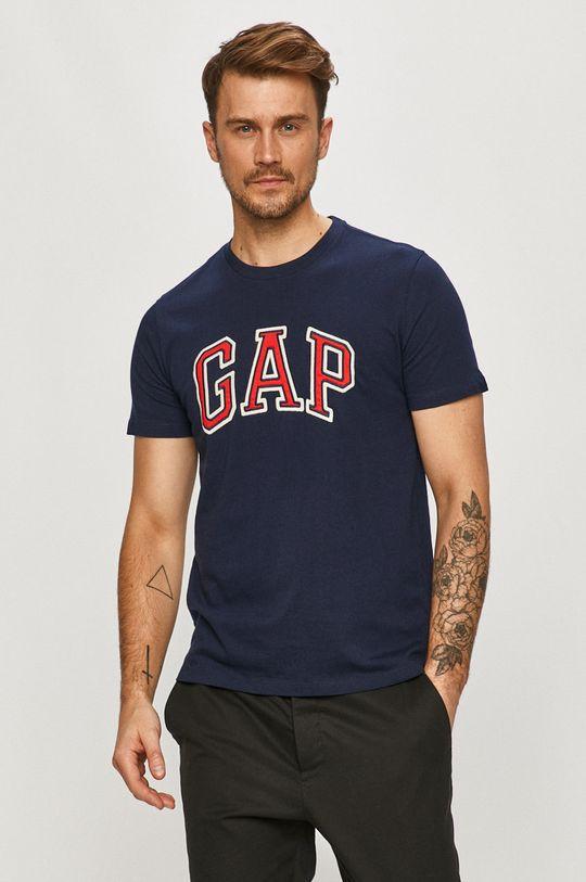 granatowy GAP - T-shirt Męski