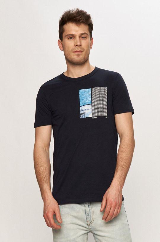 tmavomodrá Tom Tailor - Tričko Pánsky