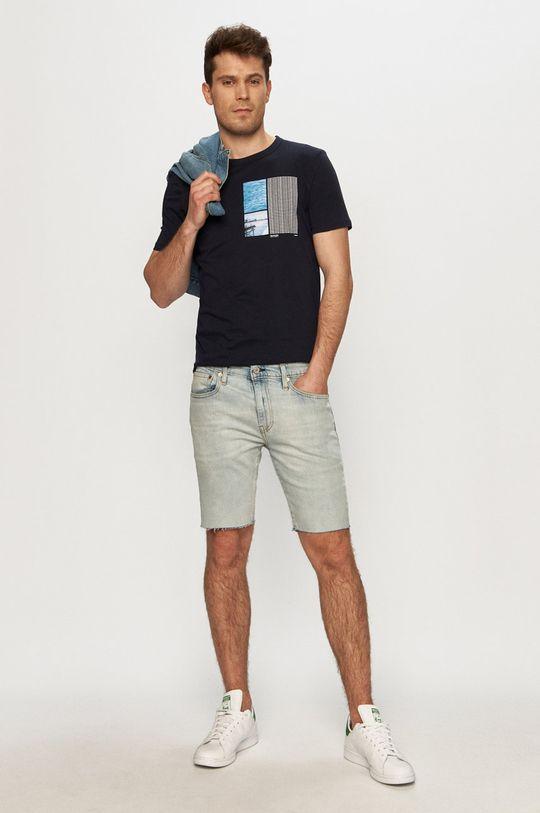 Tom Tailor - Tričko tmavomodrá