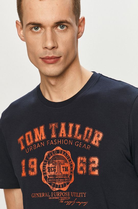 tmavomodrá Tom Tailor - Tričko