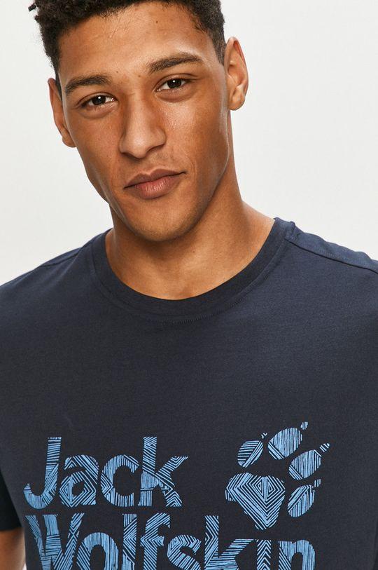 námořnická modř Jack Wolfskin - Tričko
