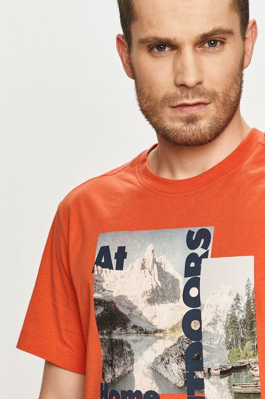 mandarynkowy Jack Wolfskin - T-shirt