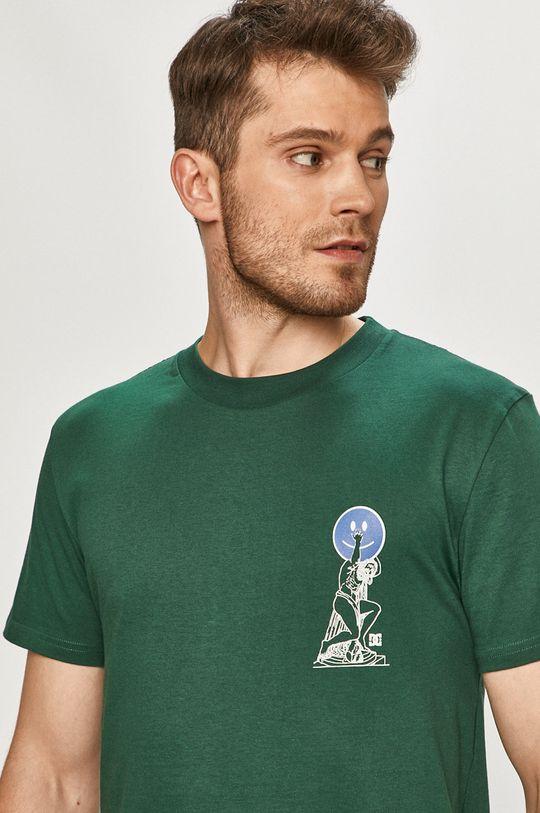 zielony Dc - T-shirt Męski