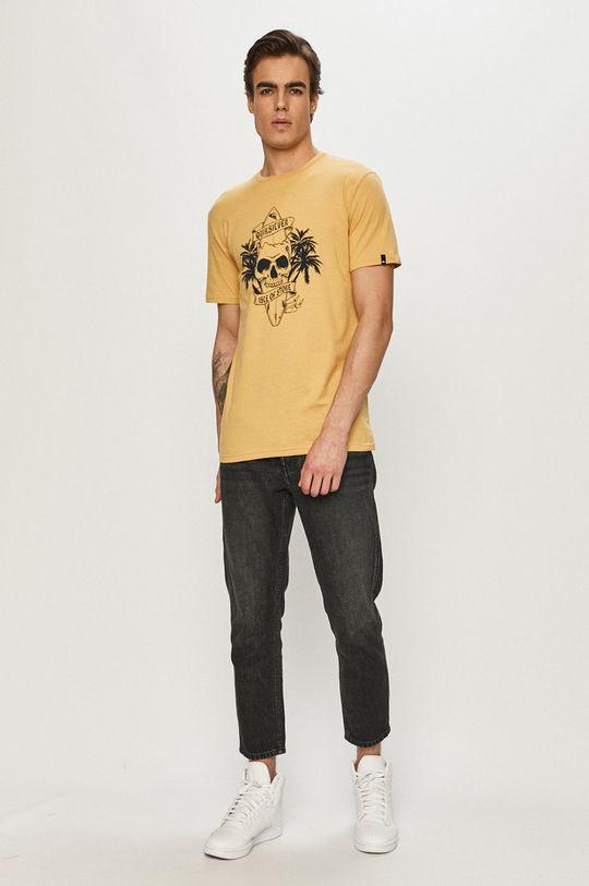 Quiksilver - Tričko žlutá