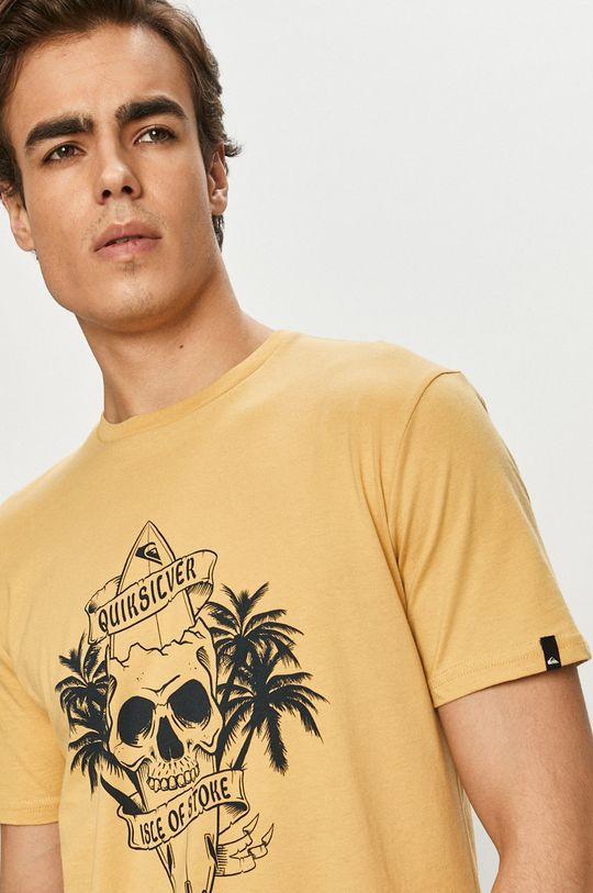 žlutá Quiksilver - Tričko