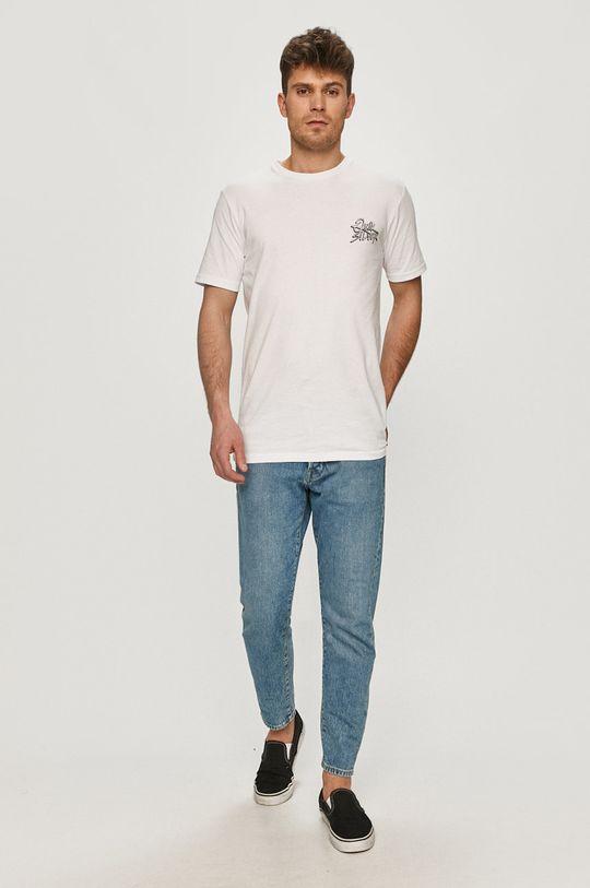 Quiksilver - Tričko bílá