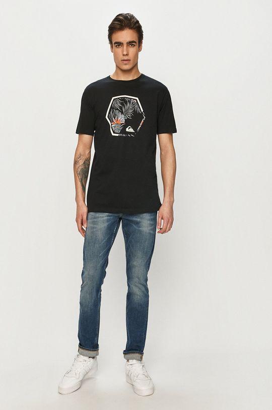 Quiksilver - T-shirt czarny