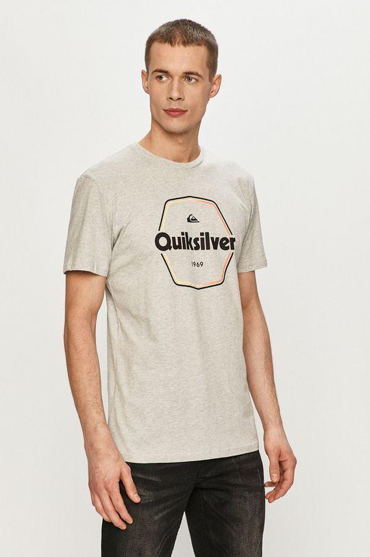szary Quiksilver - T-shirt Męski