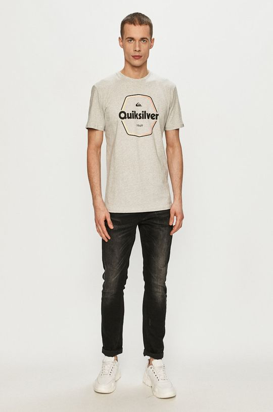 Quiksilver - T-shirt szary