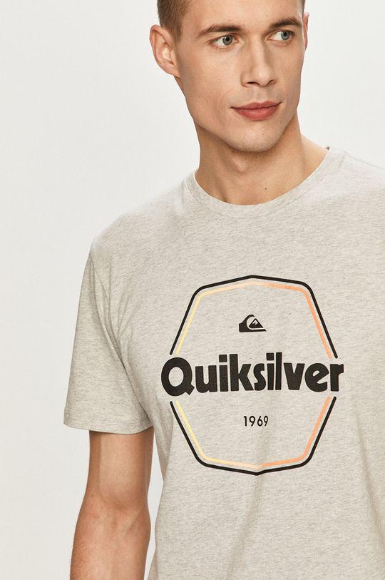 szary Quiksilver - T-shirt