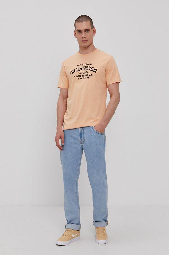 Quiksilver - Tričko oranžová
