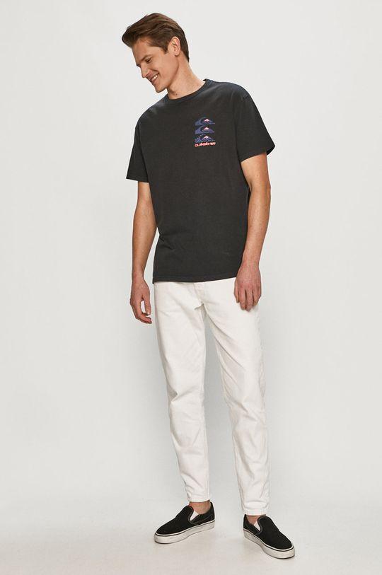 Quiksilver - Tričko černá