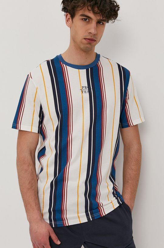 viacfarebná Protest - Tričko Pánsky