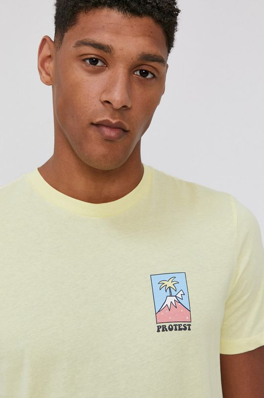żółty Protest - T-shirt