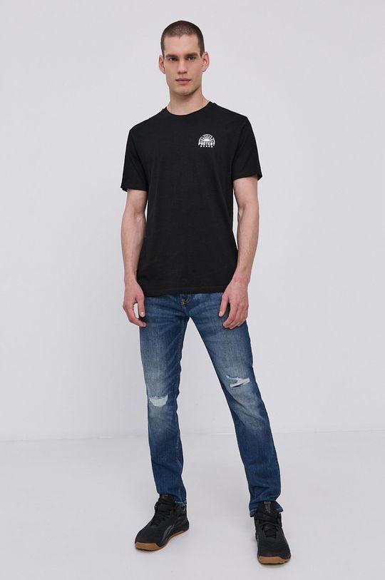 Protest - Tričko čierna