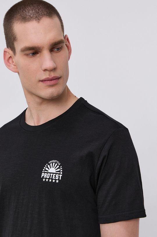 čierna Protest - Tričko