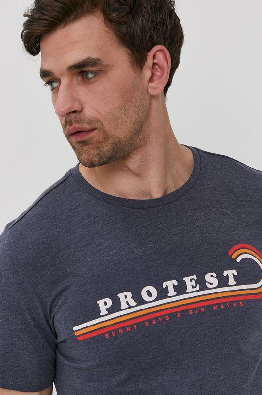 tmavomodrá Protest - Tričko