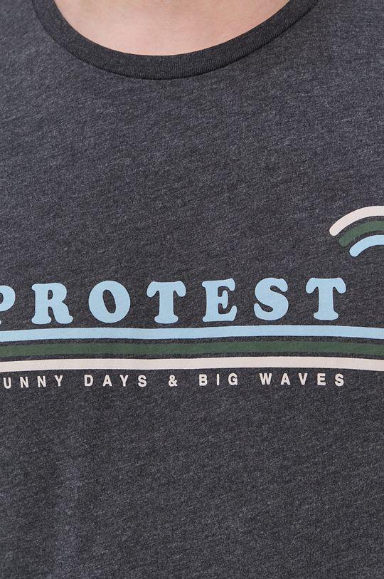 sivá Protest - Tričko