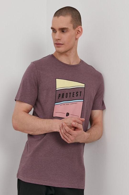 mahoniowy Protest - T-shirt Męski